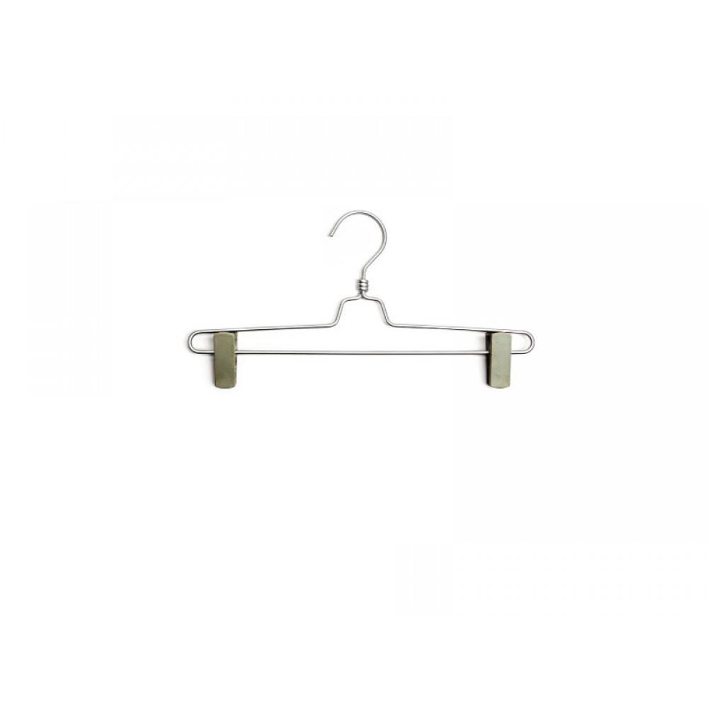 Вешалка для брюк type 3AL металлическая с прищепками