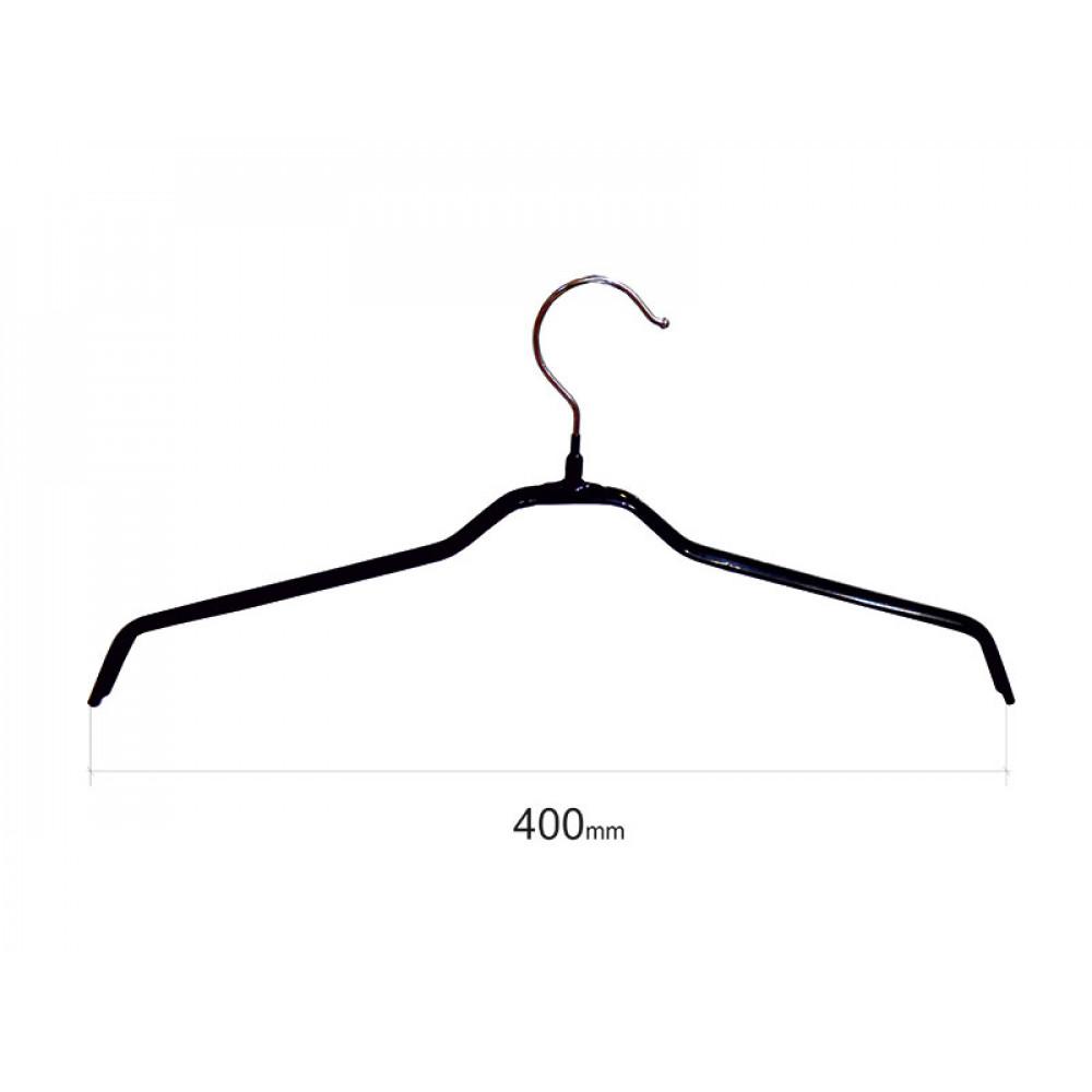 Плечики для одежды type 6 метал. 40см (черная)
