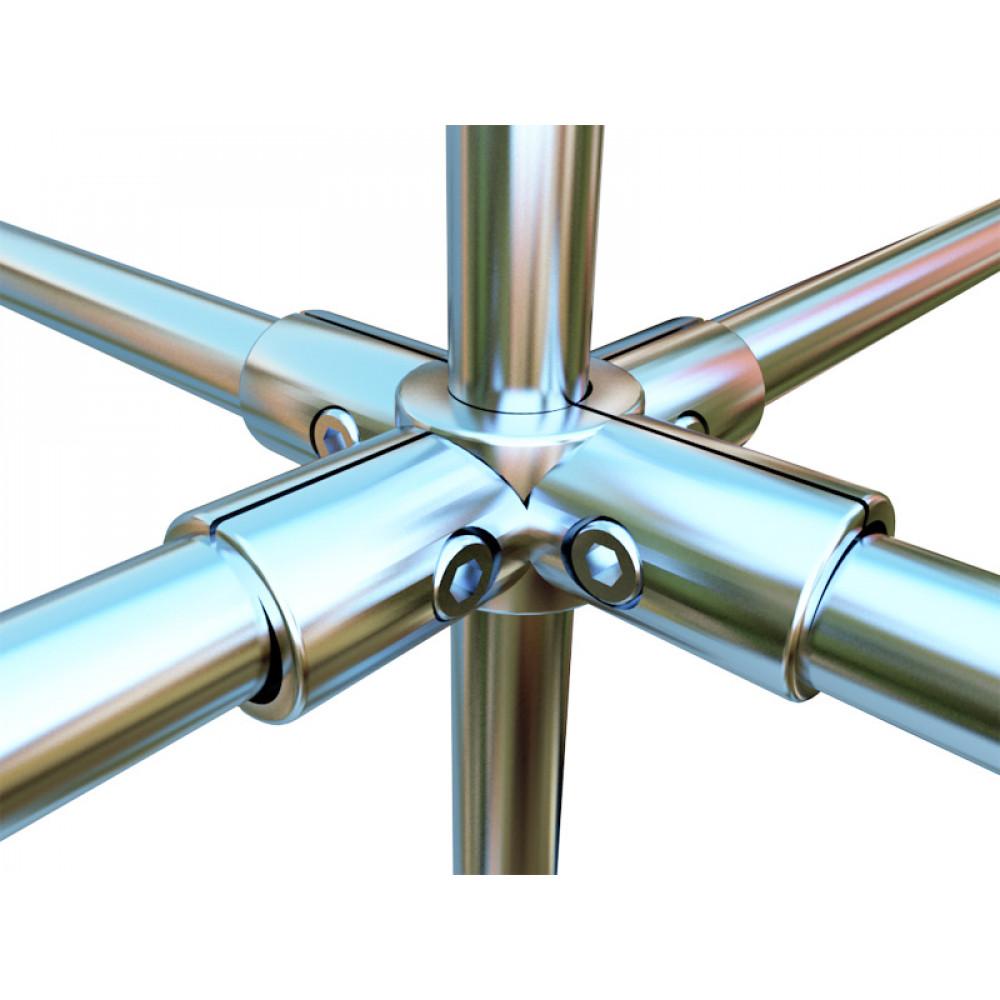3045 Соединение для труб шестистороннее