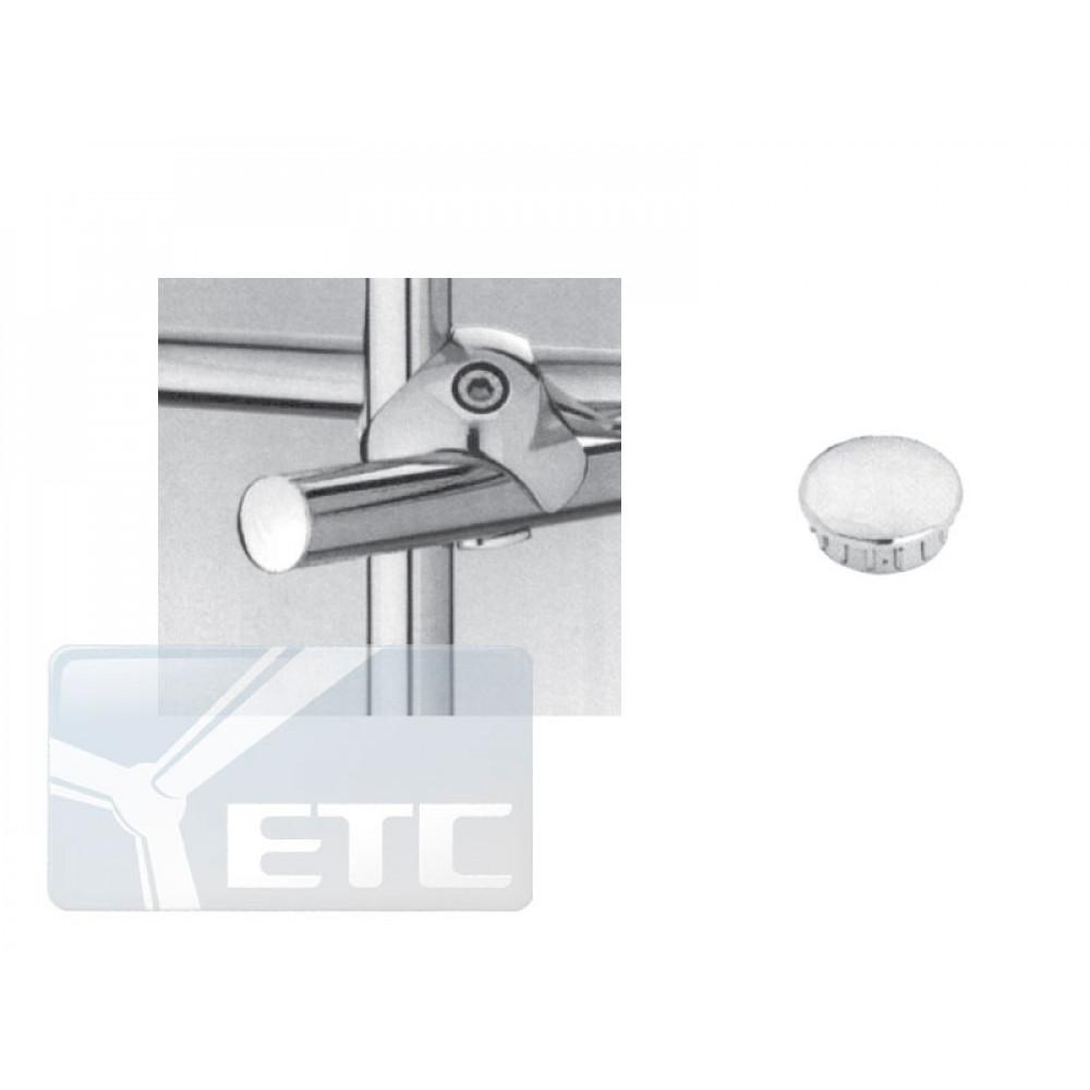 J18 Заглушка для труб (хром) dm16