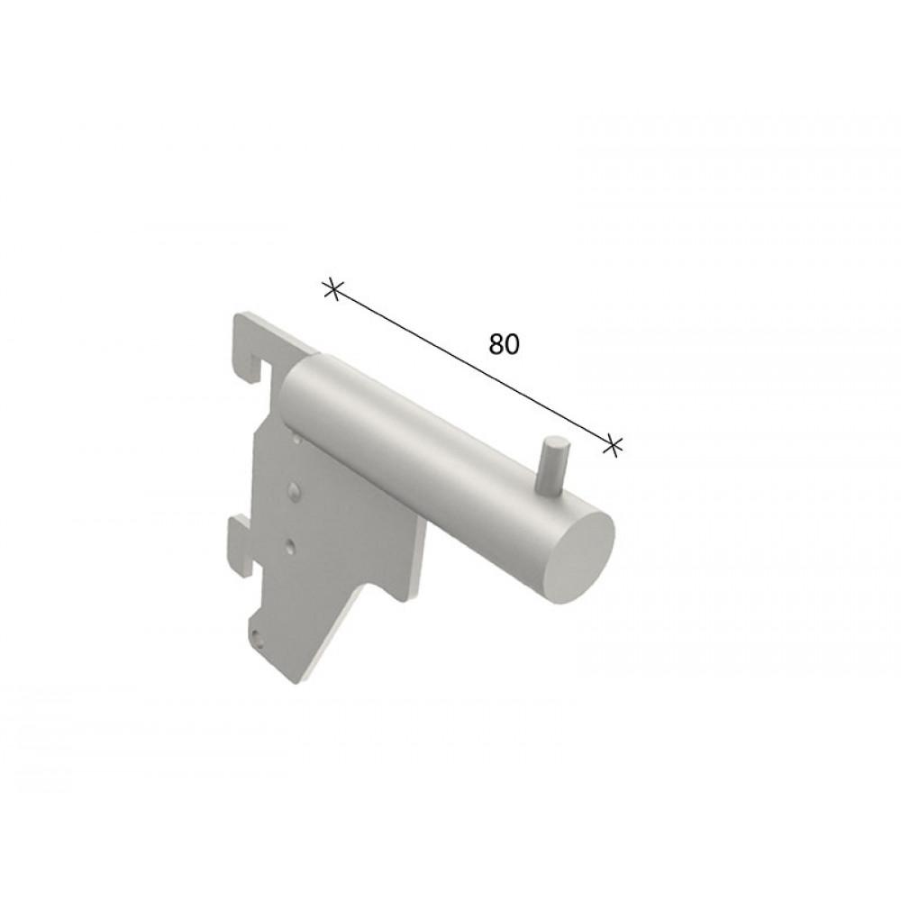 SL-A006 Кронштейн прямий малий 80мм труба dm19