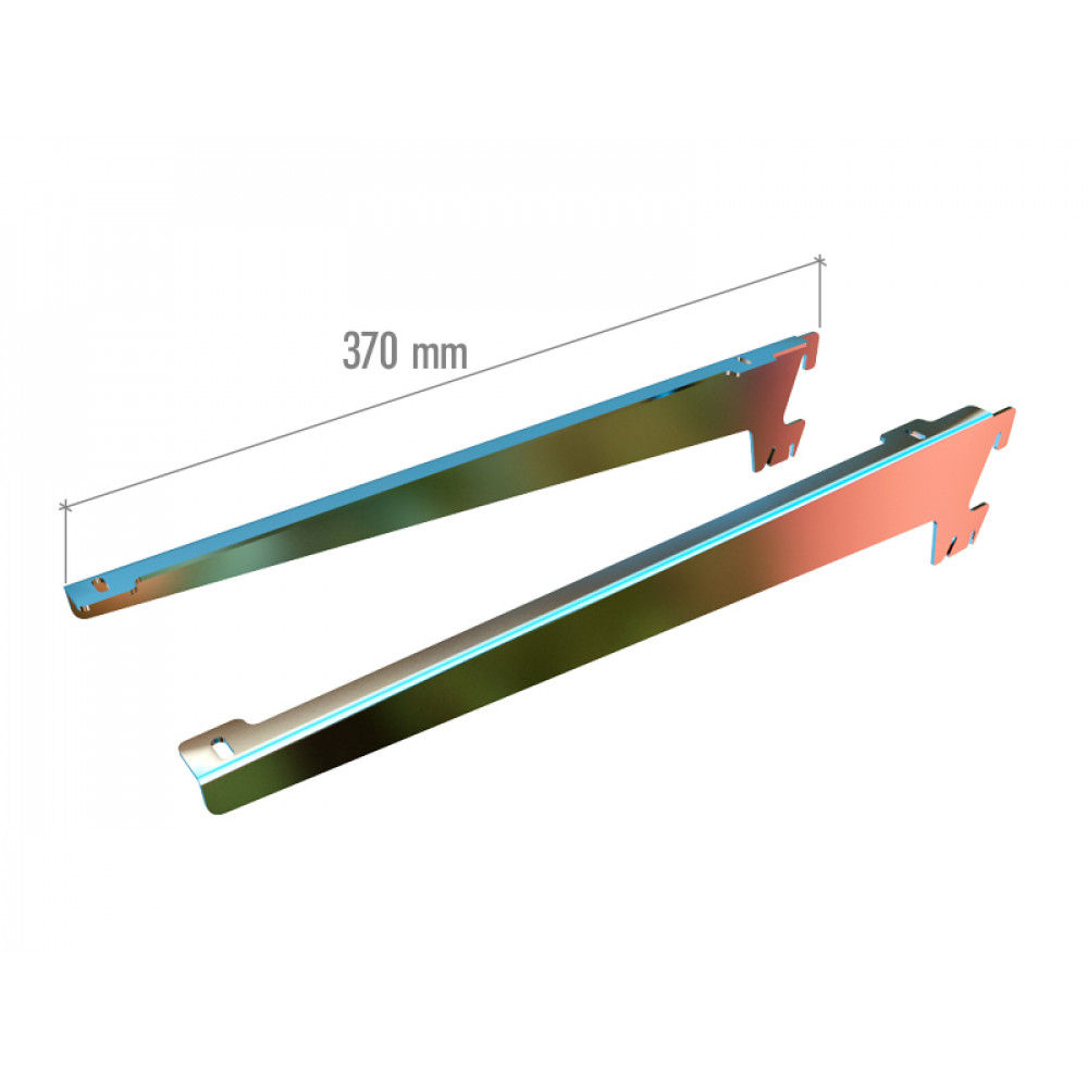 5024 н/о Кронштейны для полок 370mm