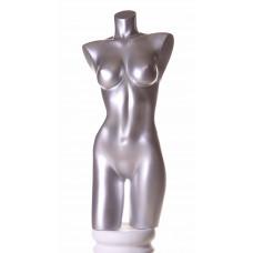 Торс жіночий 61 DB 01 ( RAL 9006 серебро)