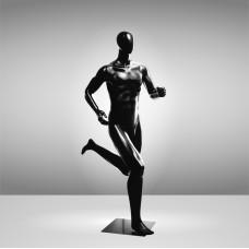 Манекен спортивный мужской черный БЕГУН JRM-RUMAN-1