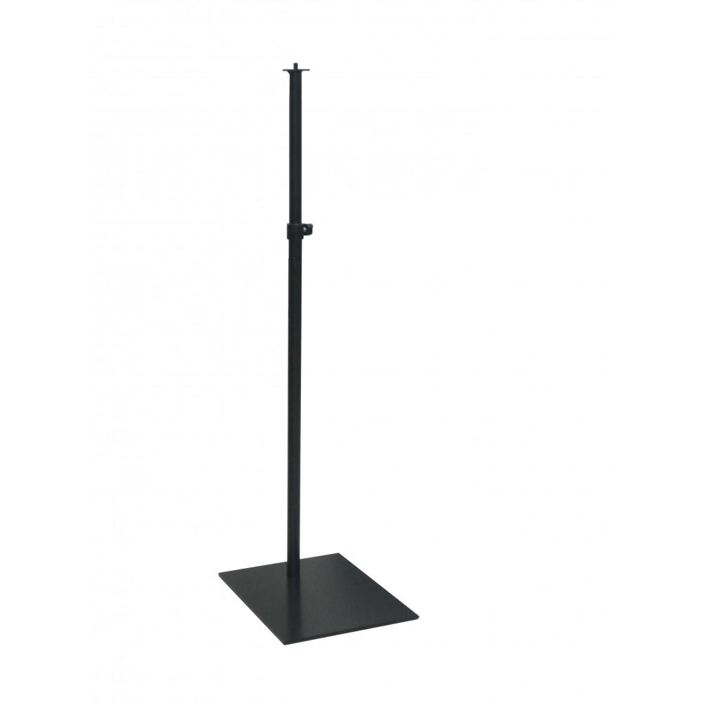 Підставка для торса чорна з кріпленням в ногу, 3250/NO