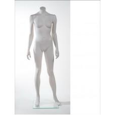 Манекен жіночий без голови MM-BG01 (RAL 9001)