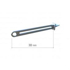TN 018 Полкодержатель для круглої поперечини