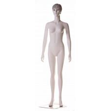 Манекен жіночий білий реалістичний з макіяжем, WK-5Zwm