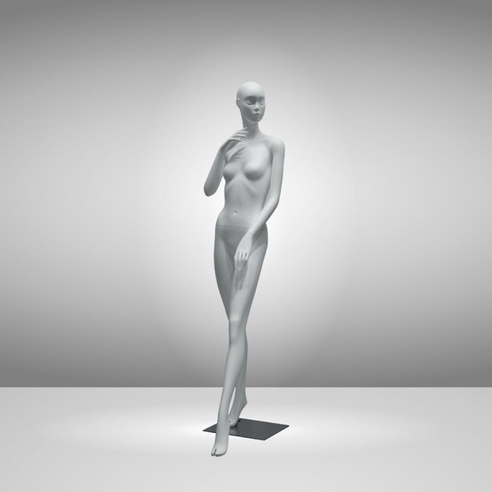 GM-APP-04-P1 Манекен женский абстрактный белый