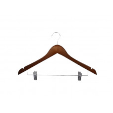 Вішаки для одягу з пріщіпкамі, махонь type 1ВZМF