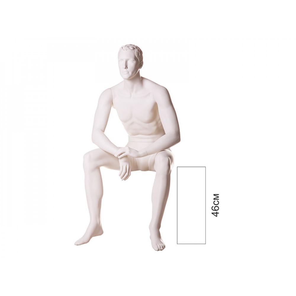 Манекен мужской сидячий VM-08