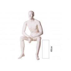 Манекен чоловічий сидячий VM-08
