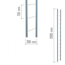 4001 Модуль плоский 2080