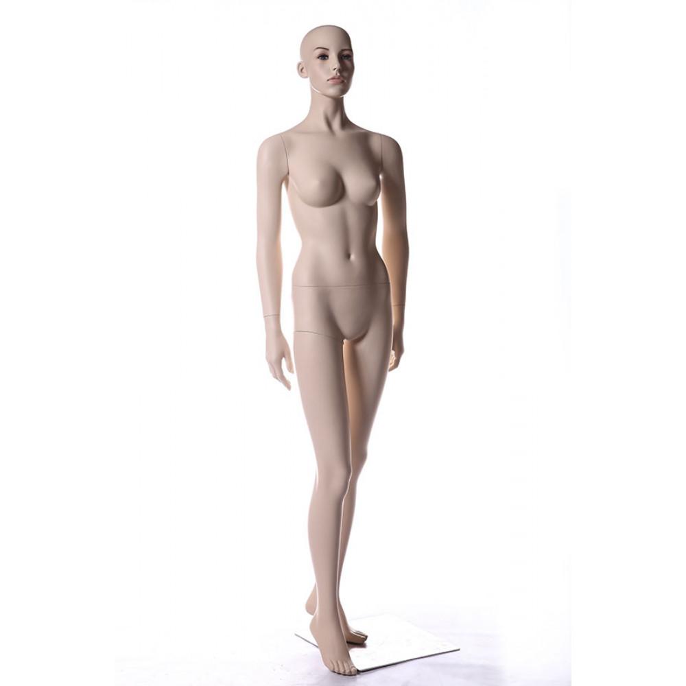 AU-8 Манекен женский телесный реалистичный (без парика)