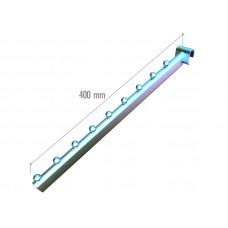 5025b tw Наклонный элемент, труба овал.30*15мм