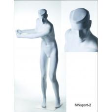 MNSport-2 Манекен мужской белый