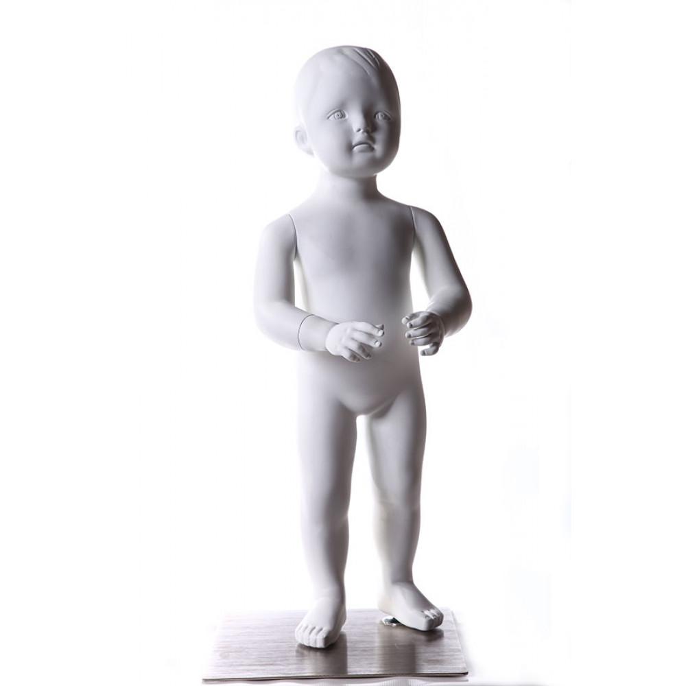 Ch-004w Манекен детский БЕЛЫЙ