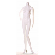 ПH-1 Манекен жіночий без голови білий