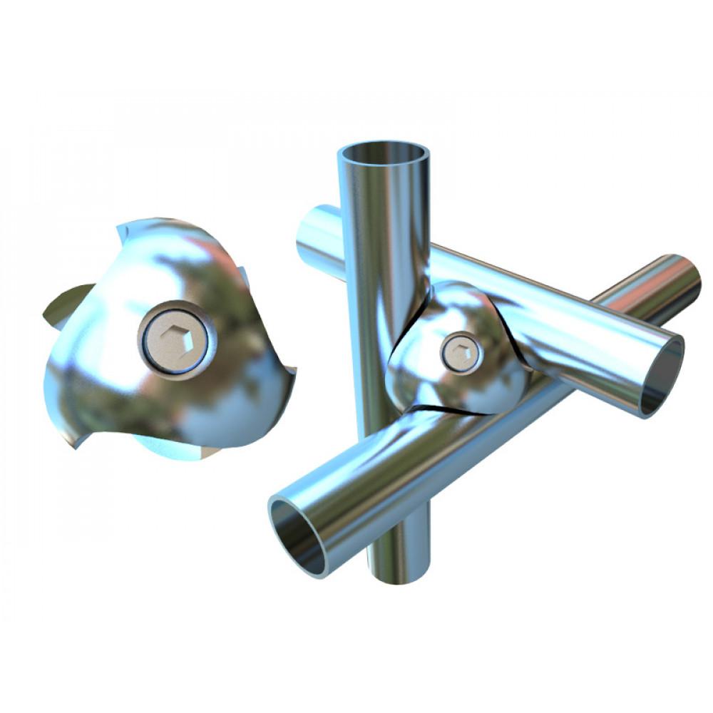 J1 (К) Тройное крепление д/труб dm 25 DX
