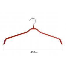 Плічка для одягу type 6 метал. 46см (червона)