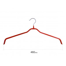 Плечики для одежды type 6 метал. 46см (красная)