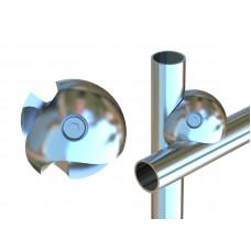 J31 (К) Двойное крепление (левоеSX) dm25