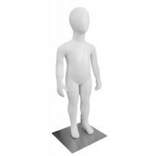 CHD-10 Манекен детский безликий белый 86см