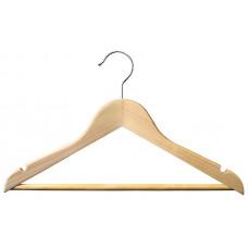 Вішаки для одягу дитячі дерев`яні 350мм type Ch