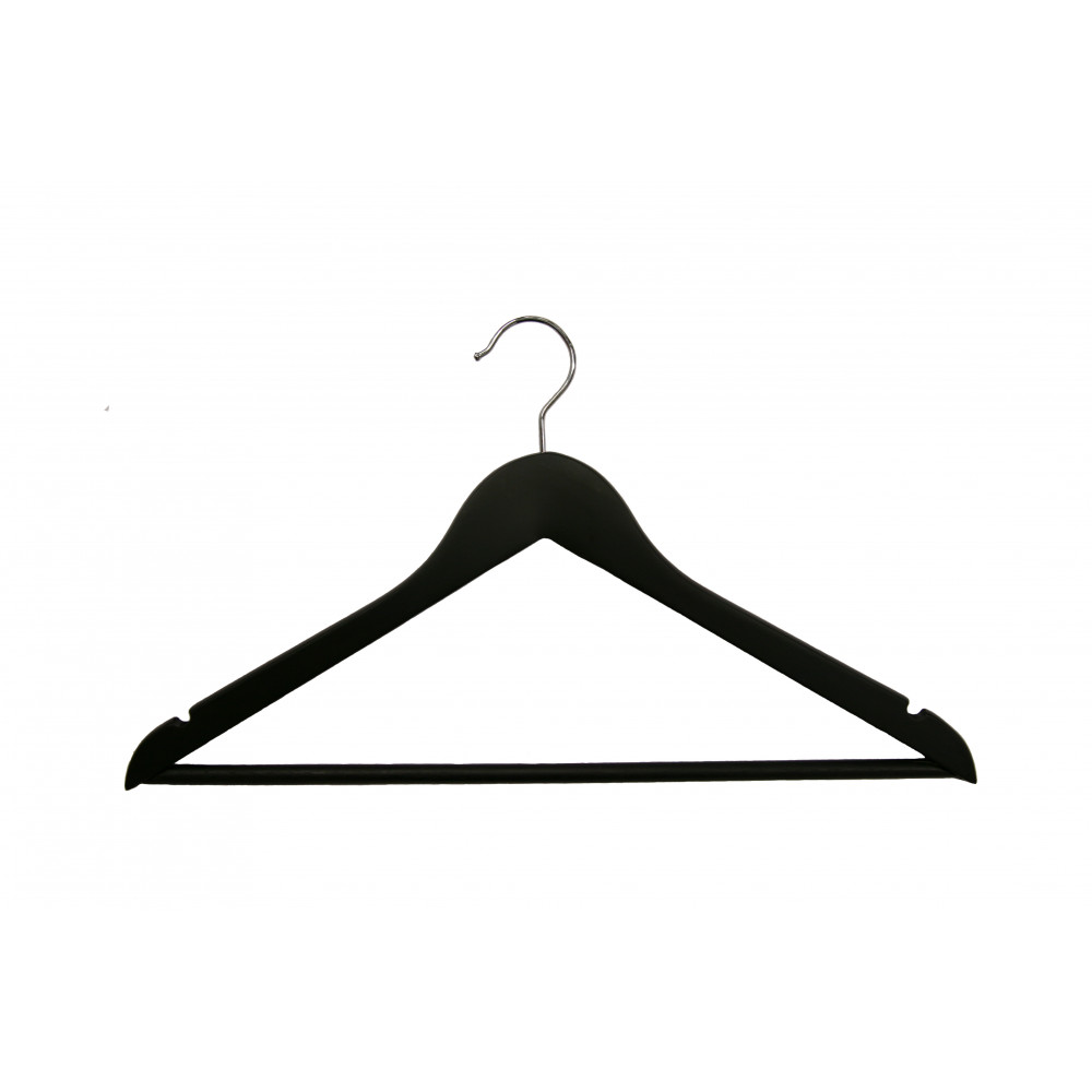 Плічка для одягу type1В Black (ЧОРНІ)
