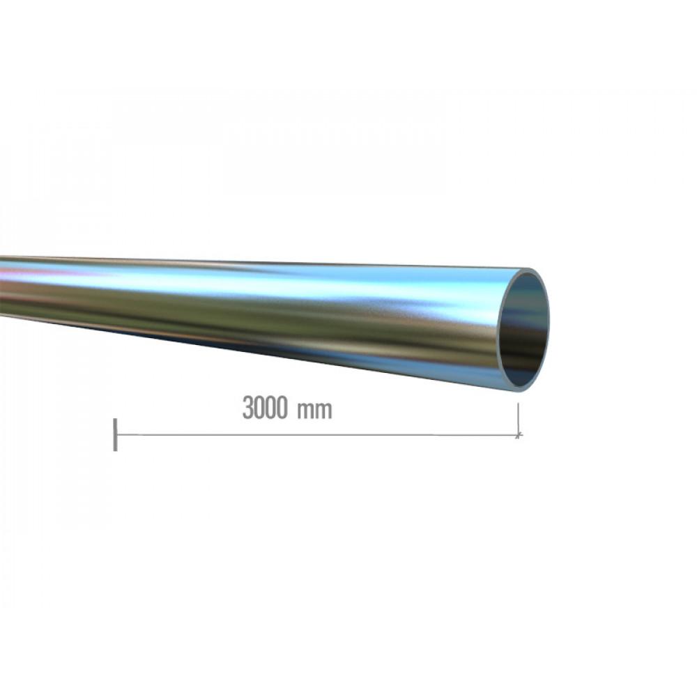 3001(К) Труба хром Д=25мм, стенка 1мм, длина 3м