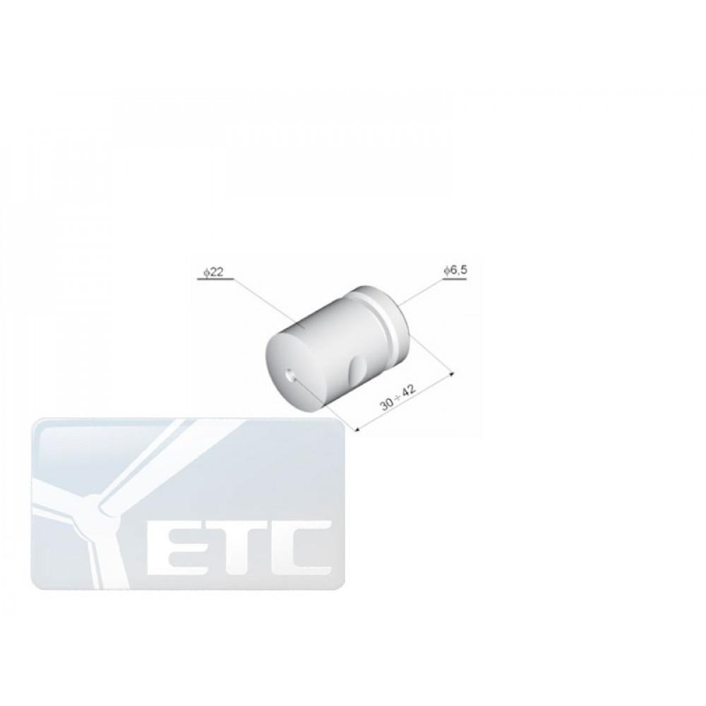 BT  Соединитель троса с перпендикулярной плоскостью