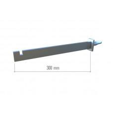 TN 003 Полкодержатель для прямокутної поперечини