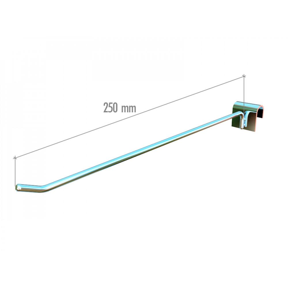 5035c Крючок на перекладину (250mm), ширина зацепа 38мм