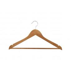 Вішаки для одягу дерев'яні (кедр) з поперечиною type 1ВМ