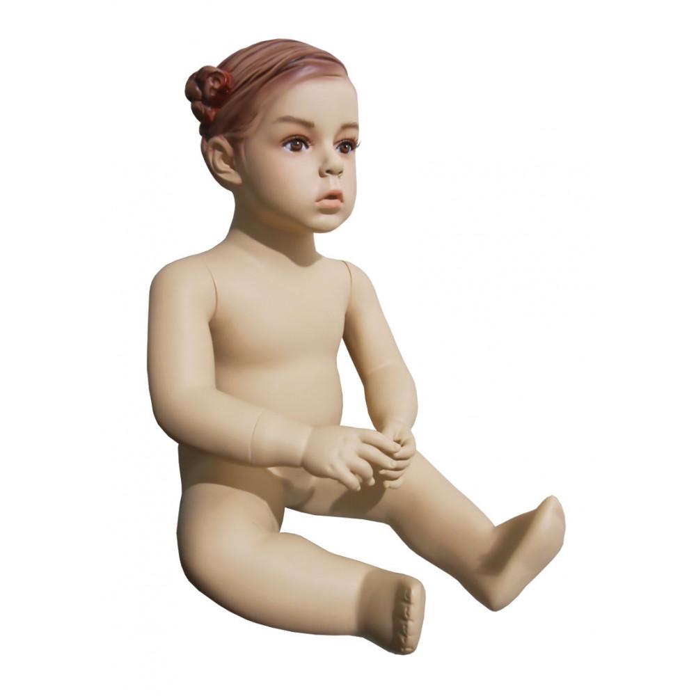 CHD-5 Манекен детский телесный (сидящий)