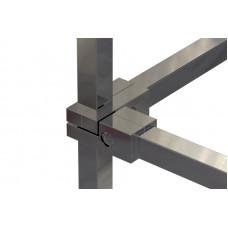 Pr15 (К) Соединитель четырехсторонний 25*25