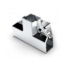GL 04 Кутове з'єднання для 4-х труб 25 * 25мм (хром)