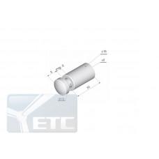 IN-31  Элемент крепления панели (d 18мм/M10мм) винтовое крепление