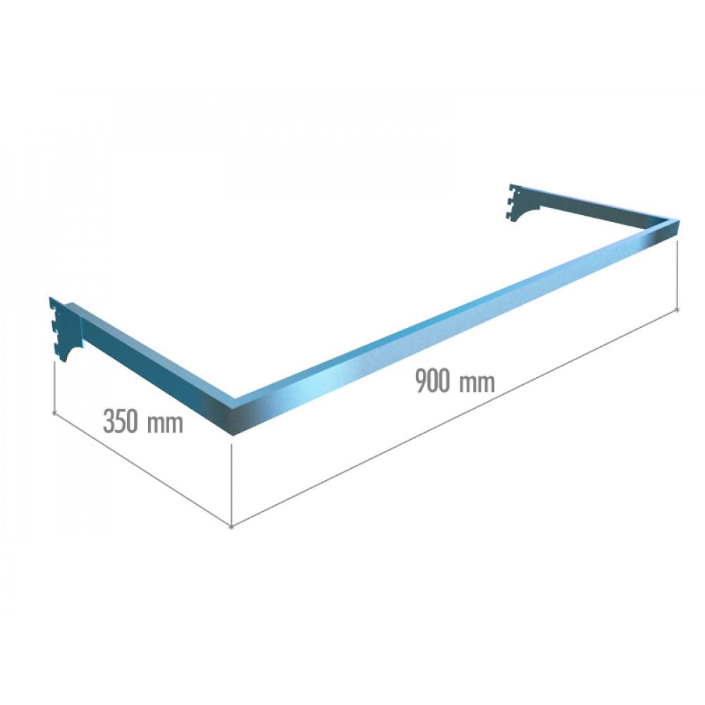 VR 6049b (К) Рамка тип U (900*350) хром.