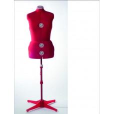 FD151 Манекен жіночий пошивочно-виставковий (50-58р-р) червоний