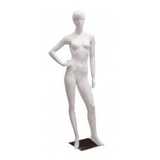 TC-5w / Dan Манекен жіночий білий реалістичний БЕЗ МАКІЯЖУ