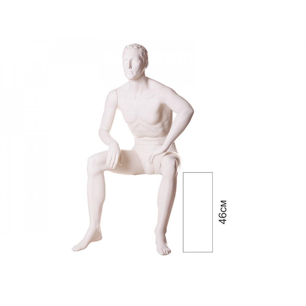 Манекен мужской сидячий VM-09