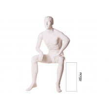 Манекен чоловічий сидячий VM-09