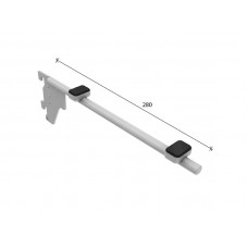 SL-H016 Кронштейн для скла 280мм (труба dm12 mm)