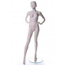 Манекен жіночий NIKI / MP6 (RAL 9010)