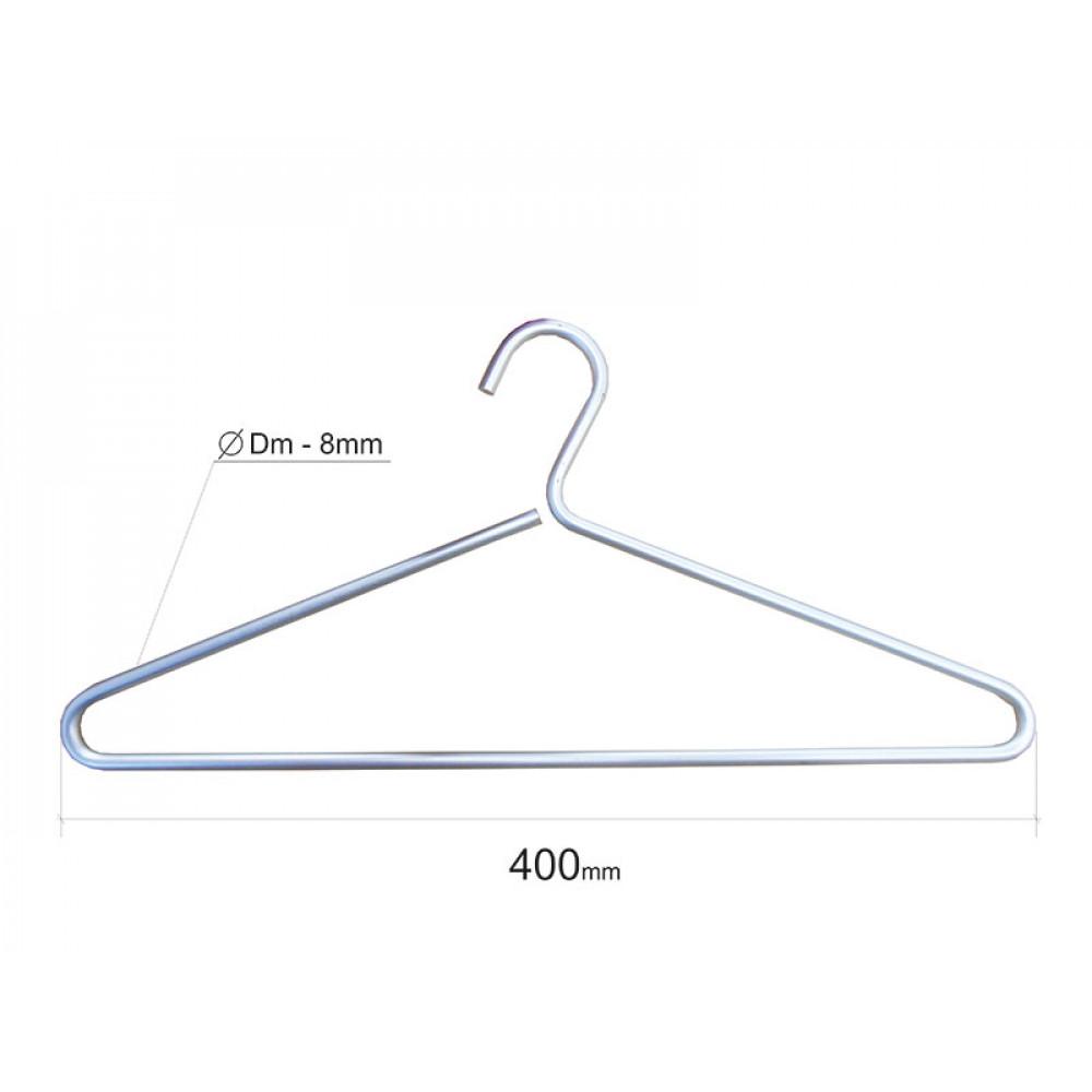 Плечики для одежды type 7B (алюминий) L=42см