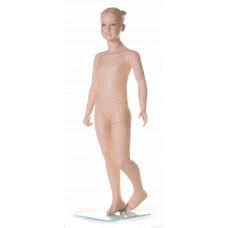 Манекен дитячий D4 тілесний з макіяжем