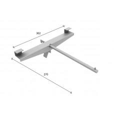 SL-H012 Т-образний полицетримач 300 * 280мм (труба dm12 mm)