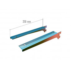 VR 6250 Кронштейны для полок 250мм. хром. (пара)