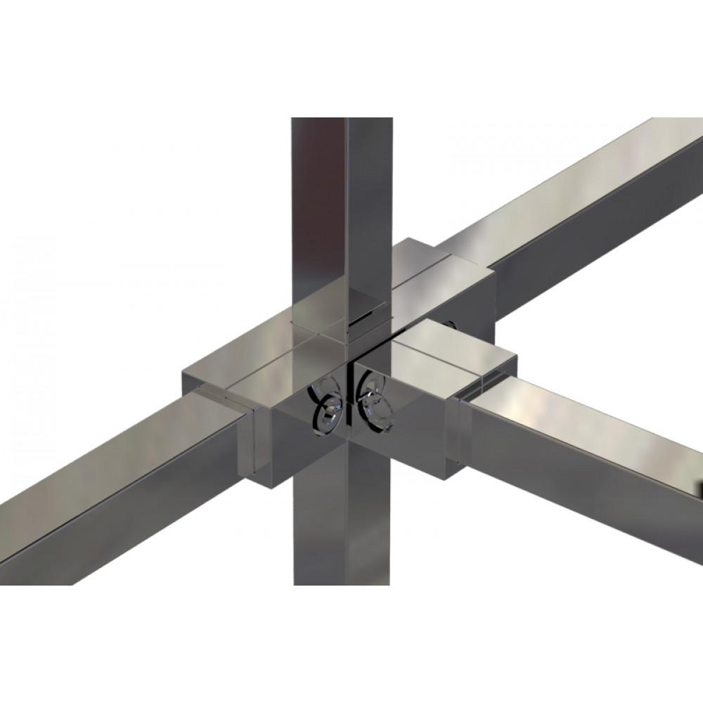Pr16 (К) Соединитель пятисторонний 25*25